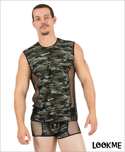 Boxer Homme - Lookme Military