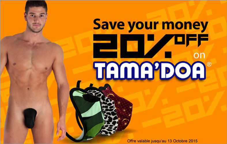 Save 20% on men c-string