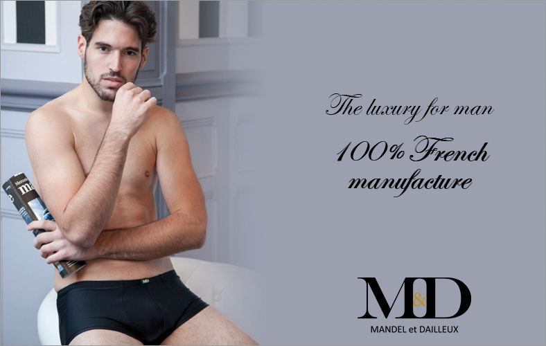 The luxury for men 100% french manufacture