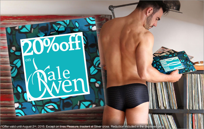 Save 20% on Kale Owen men underwear