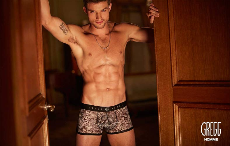 Gregg Homme, Luxury sexy underwear for men - Frisky collection