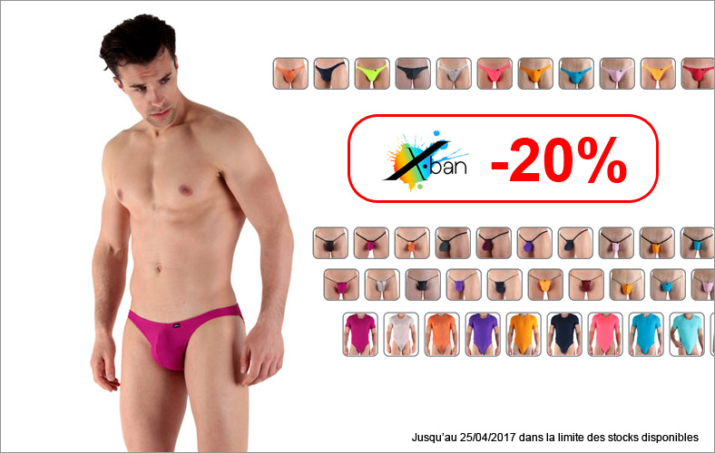 Promotion X-Ban 20%