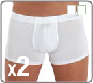 Pack of 2 boxerbriefs micromodal, very soft material for underwear emphasis on...