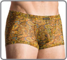 A cachemire printed on a thin and light veil for underwear refined, comfortable...