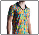 M851: Bright and dazzling colors to attract the eye. Printed on microfiber...