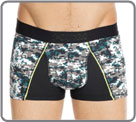 Boxerbrief in a light and stretchable material with a design and original Yoke...