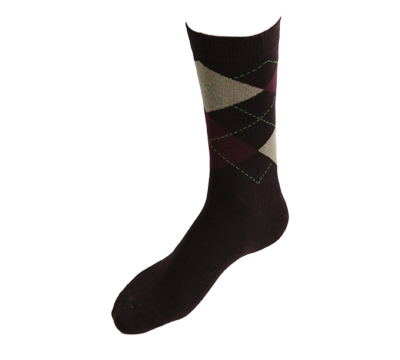 Planet Socks - Mid-calf sock Intarsia 3