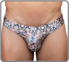 Bikini model: small low waist brief. The sexy and printed mini-brief of Joe...