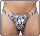Thong model: small Rio thong. Printed elastic fabric. The most sexys thong...