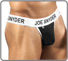Line Activewear, sport spirit. Large waist band marked JOE SNYDER. Black pouch...