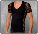 Tee-shirt Doreanse - Black Lace 2...