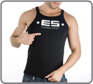 Round neck tank top. ES collection printed. Several colors available. Perfect...