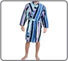 Sponge highly soft touch velvet bathrobe. Material warm and comfortable. Two to...