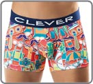 Boxerbrief in a thin and soft material with satin sheen and with an orginal up...