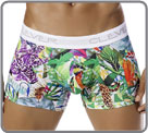 Boxerbrief in a soft and satiny material, with a beautiful pattern representing...
