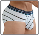 Brief made from an elegant and stretchy microfibre fabric with an ultra-soft on...