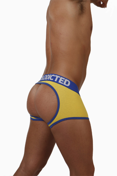 Addicted - Boxer brief Empty Button