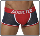 Boxerbrief mixing two materials, cotton front with its pre-formed pouch with up...
