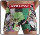 Printed Fantasy boxerbrief. KAHMO waist band. Printing by all over sublimation...