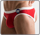 Jockstrap brief in high quality breathable cotton and spandex, made with a and...