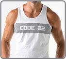 Tee-shirt Code 22 - Wide Stripe