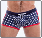 Bath trunk with the new generation of men's swimsuit Amplifiers: POWER SHAPE is...