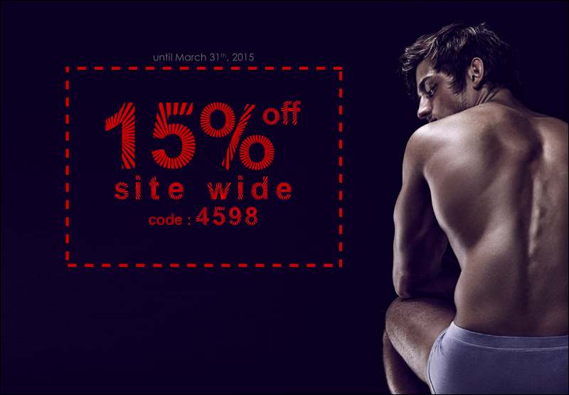 15% off Site wide