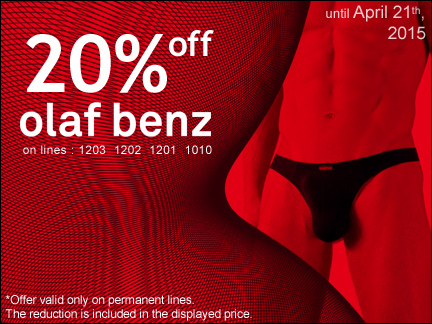 20% off on Olaf BenzWinter sales 2015