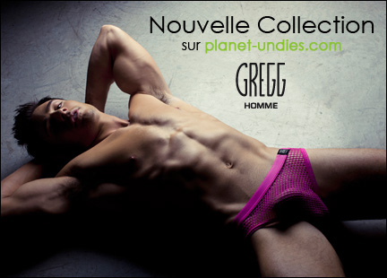 Nouvelle collection Gregg Homme