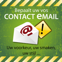 Mijn contact-email