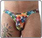 Love, a floral and colorful print that awakens your underwear, based on a soft...