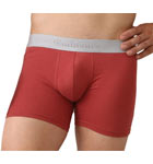 An ultra-comfortable fabric mixing cotton and modal. Silver color waist band. Lined front pouch.
