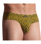 Printed black virus on yellow. With this collection, lovers of discerning underwear will find a remarkable choice offered by Manstore's design workshop.