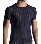 Ultra-light underwear, with particularly transparent stripes.