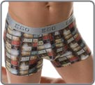 Go on the road 66 with this boxerbrief and its multicoloured pattern made with...