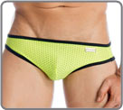 Jockspree, a material with small holes, intense colors for original underwear,...