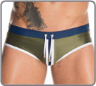 Navy underwear, a design that reminds us of the world of sport. Clamping cord...
