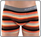 Extremely comfortable thanks to majority cotton, this boxerbrief will delight...