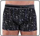 Boxerbrief in a soft, extensible and comfortable microfiber with a graphic very...