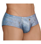 A very realistic Jeans allover print... you've never worn jeans so close to your body!