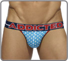 Very comfortable jock in majority cotton with white stars patterns reminding on...