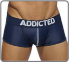 Boxerbrief based on mesh fabric (micro-aerated) with system push-up (elastic in...