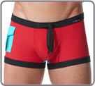 Bath line cruising, coloured bath boxerbrief in ultra-soft technical fabric at...