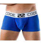 Boxerbrief made of high quality cotton/spandex. Bands of contrasting color on the sides. Waist band with logo.