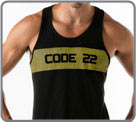 Camiseta Code 22 - Wide Stripe...