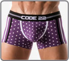 Midnight Star, a variation of contrasting and very masculine underwear. Cotton...