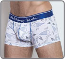 Printed boxerbriefs by Walking Jack with blue, soft waistband. High quality the...
