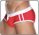 Swim brief incorporating a lightweight shell for a perfect and attractive look...